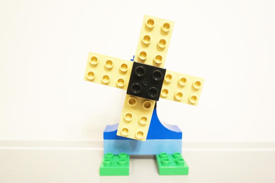 レゴで作った風車