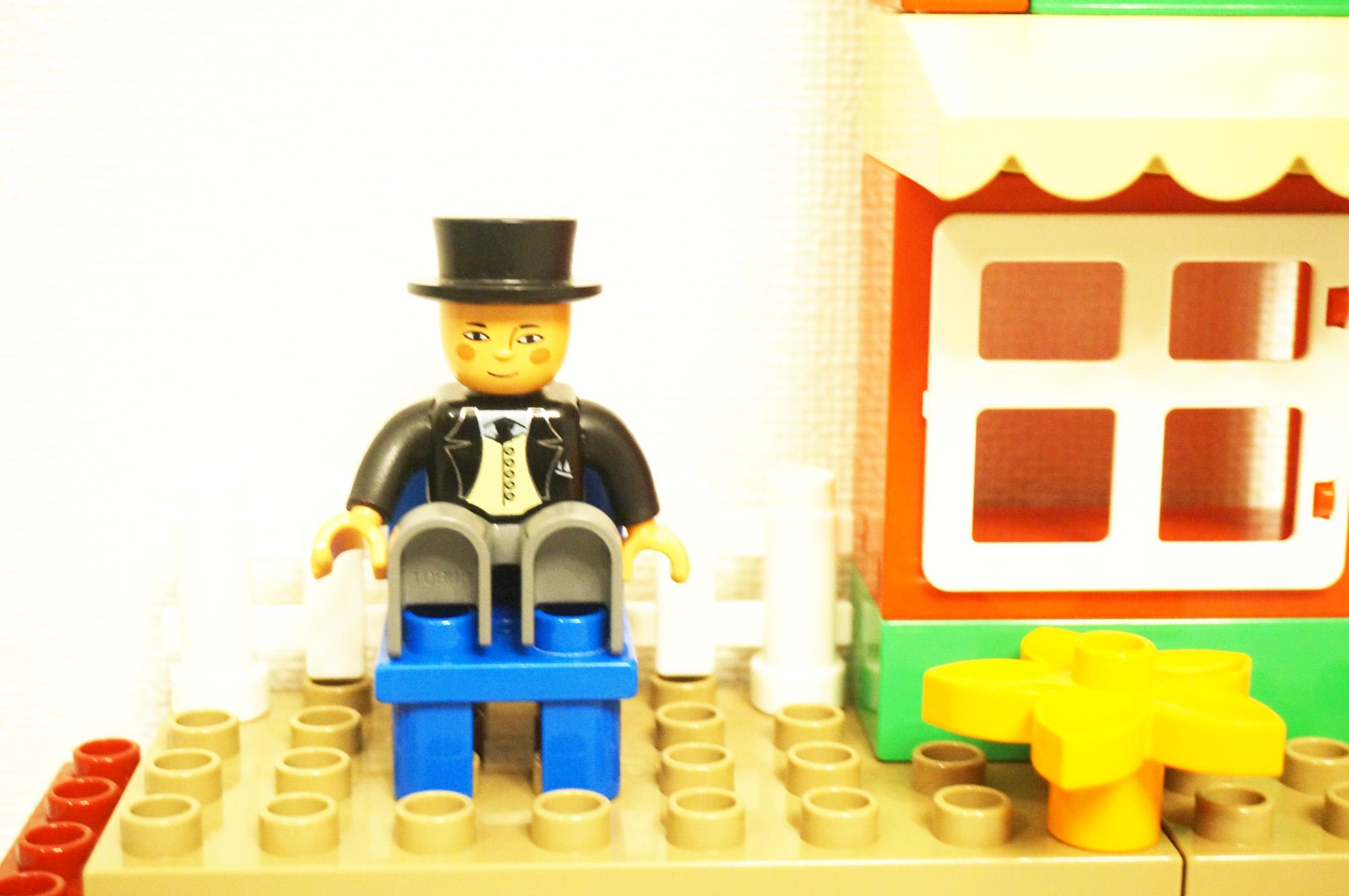 レゴのトップハムハット卿のフィギュア