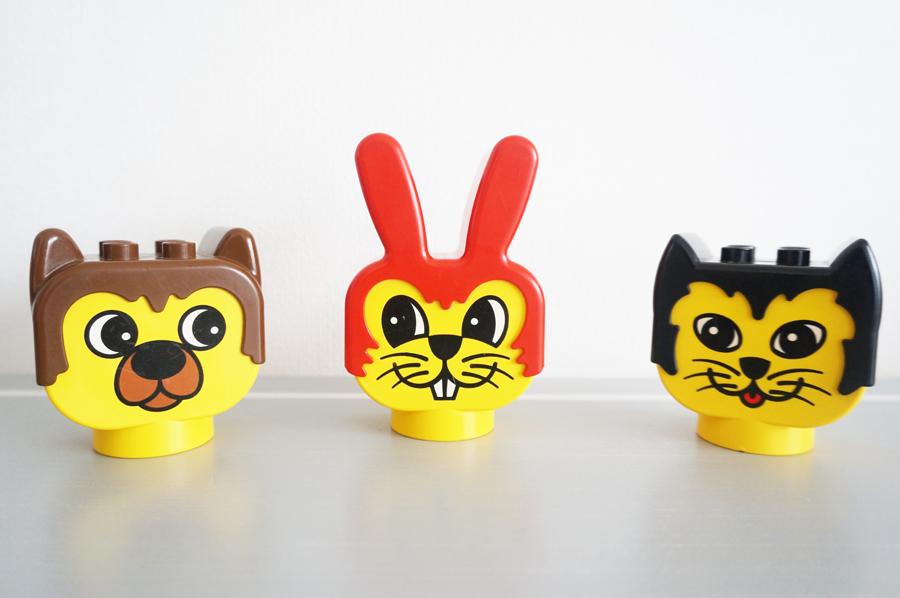 動物のレトロなレゴ