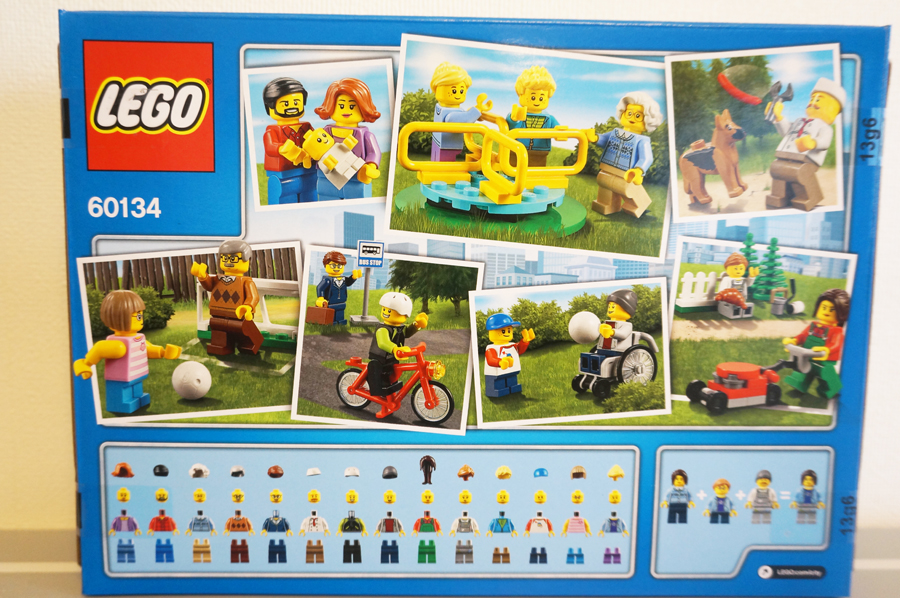 1b7892314cc544 60134レゴシティの人たちレビュー赤ちゃんのミニフィグ! - レゴがすき