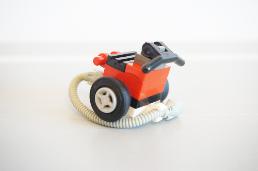 レゴで掃除機