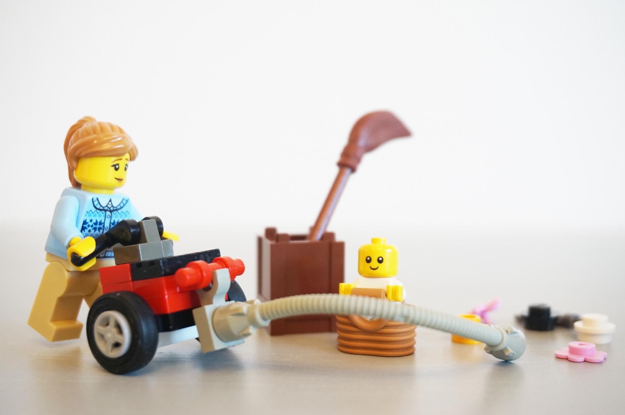 レゴのお掃除風景