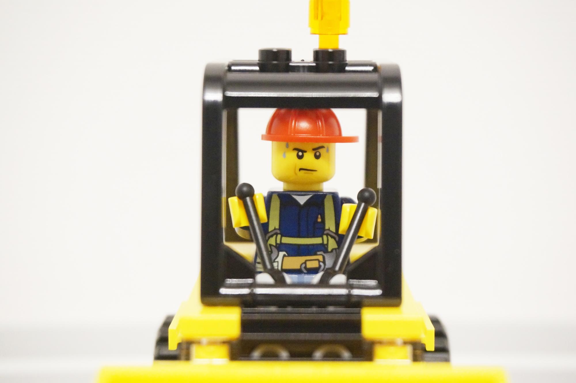 レゴ汗まみれ