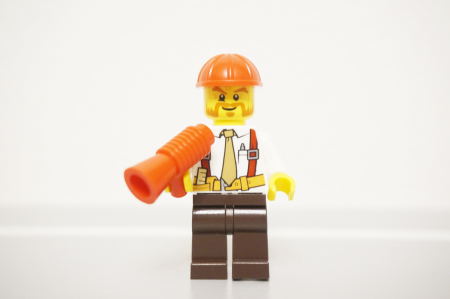 レゴ現場監督前