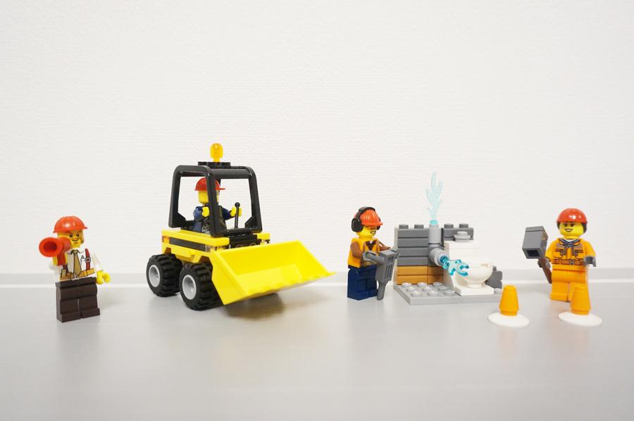 レゴ解体工事