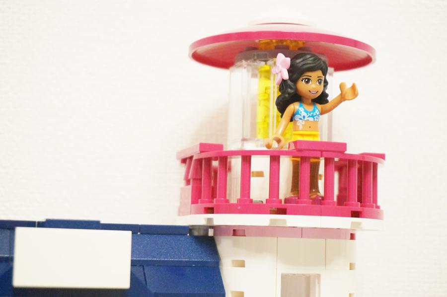 灯台に登る