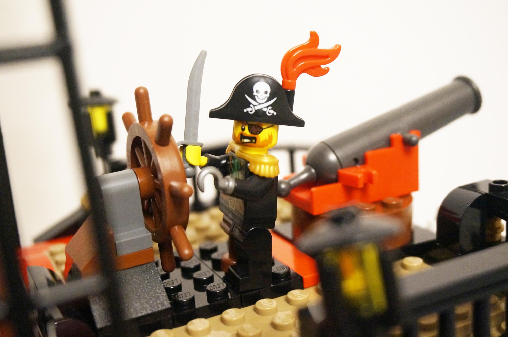 レゴパイレーツの船長