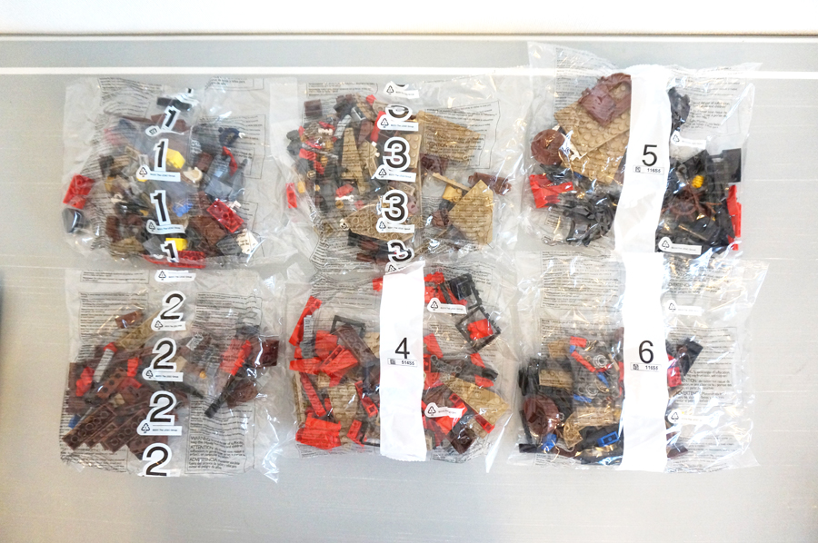 レゴ70413のパーツ