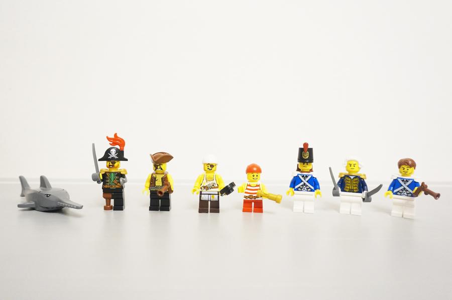 レゴ70413のミニフィグ