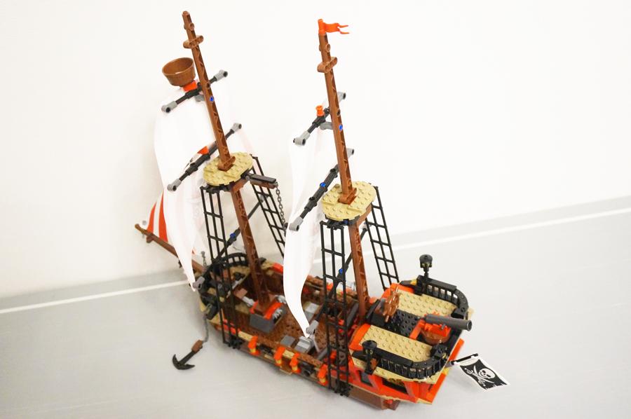 海賊船上から