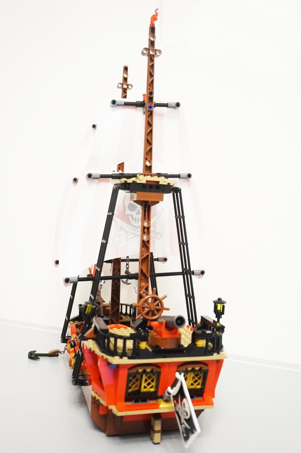 海賊船後ろから
