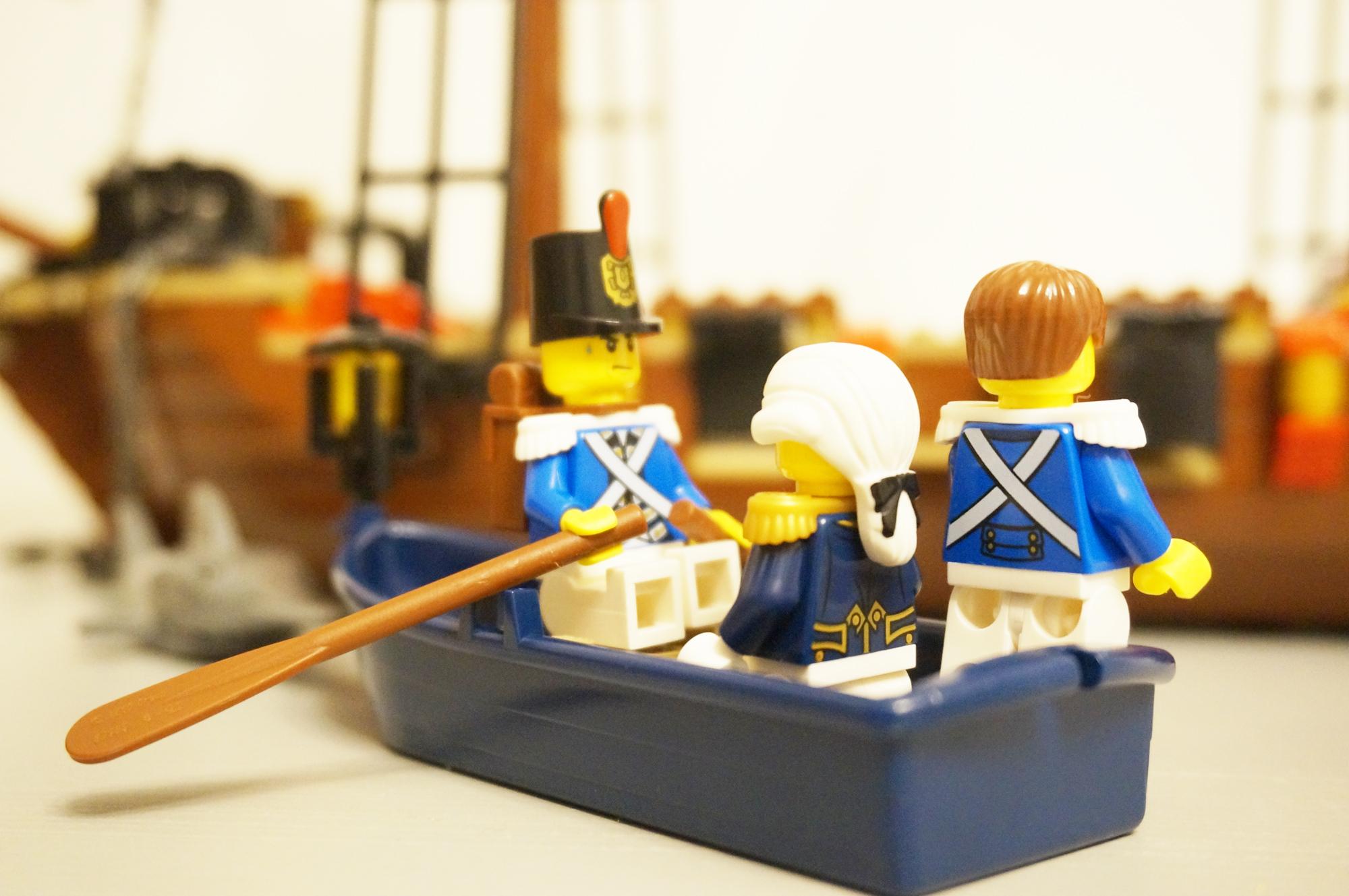 船に乗る海兵隊