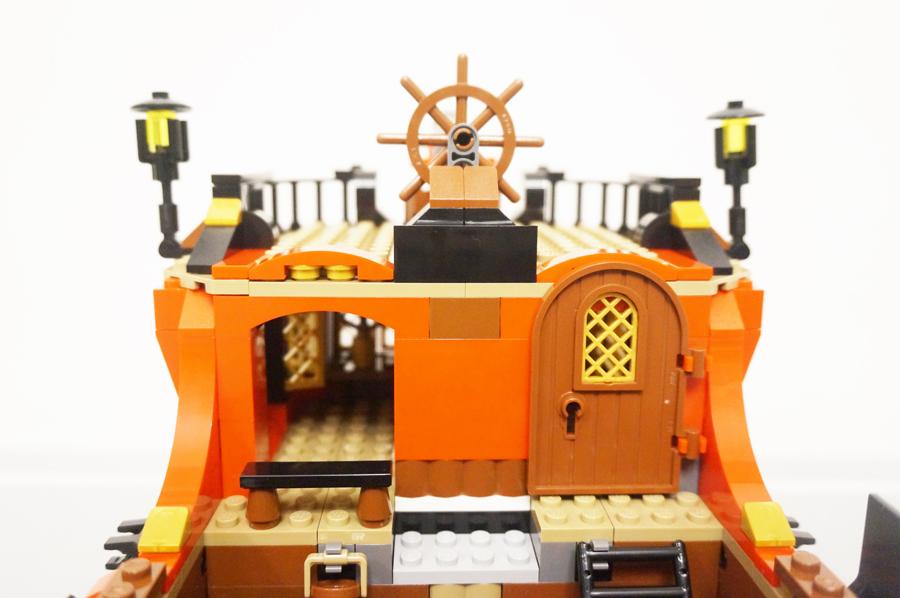船長室の上完成