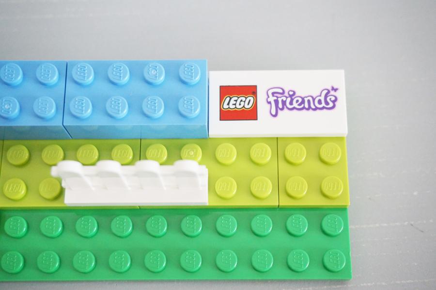 レゴフレンズのプリントブロック