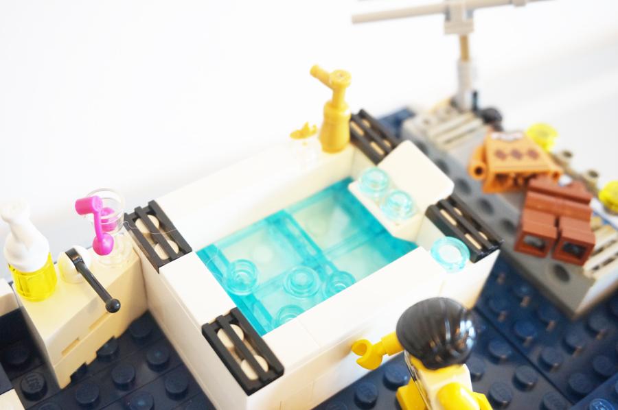 レゴのお風呂