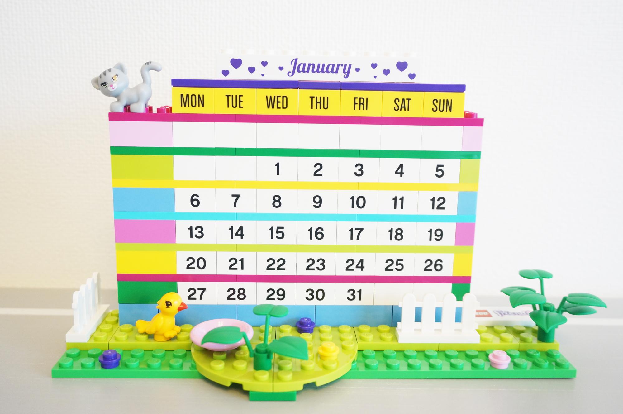 レゴフレンズカレンダー