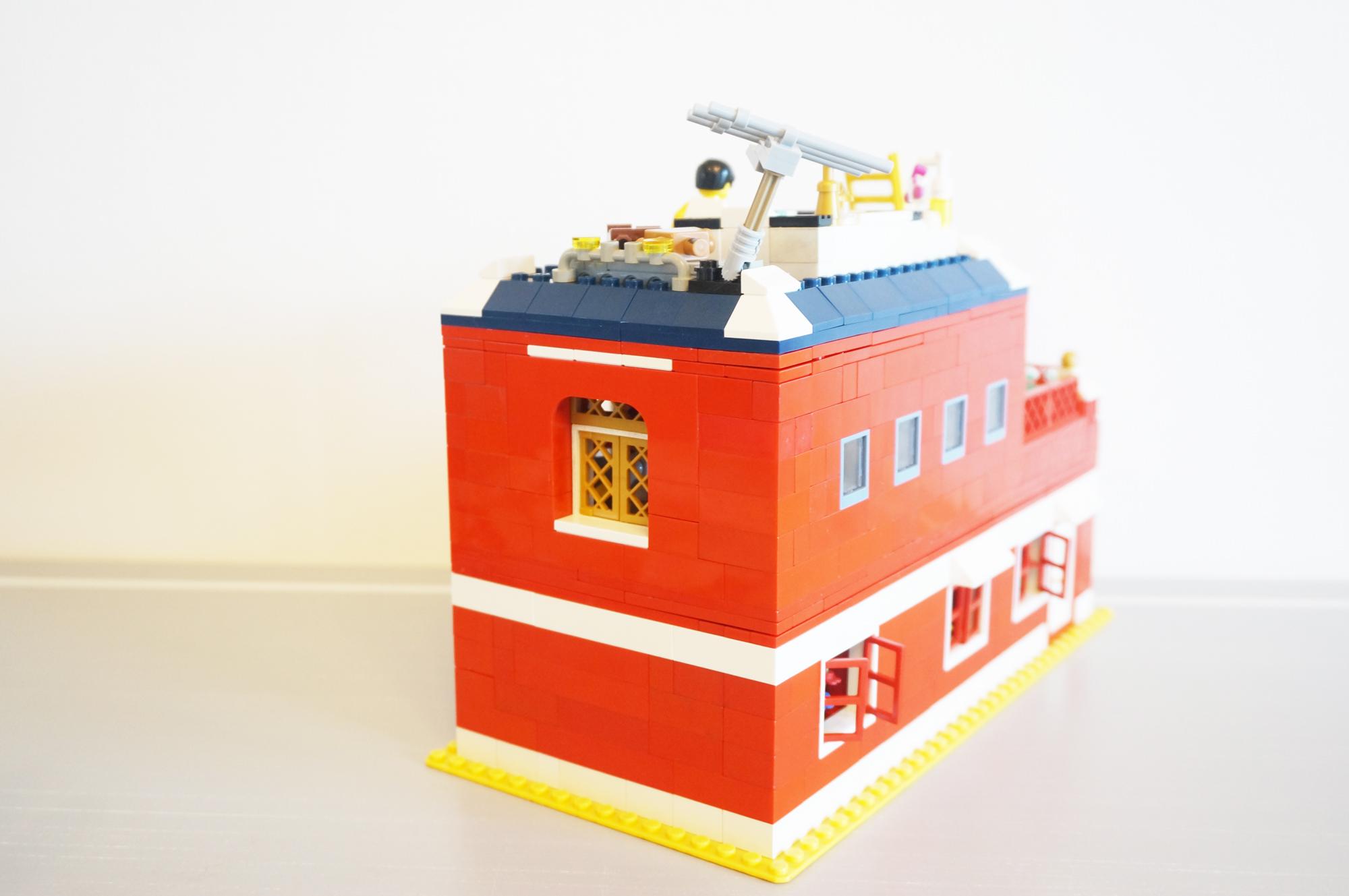 レゴの家外観