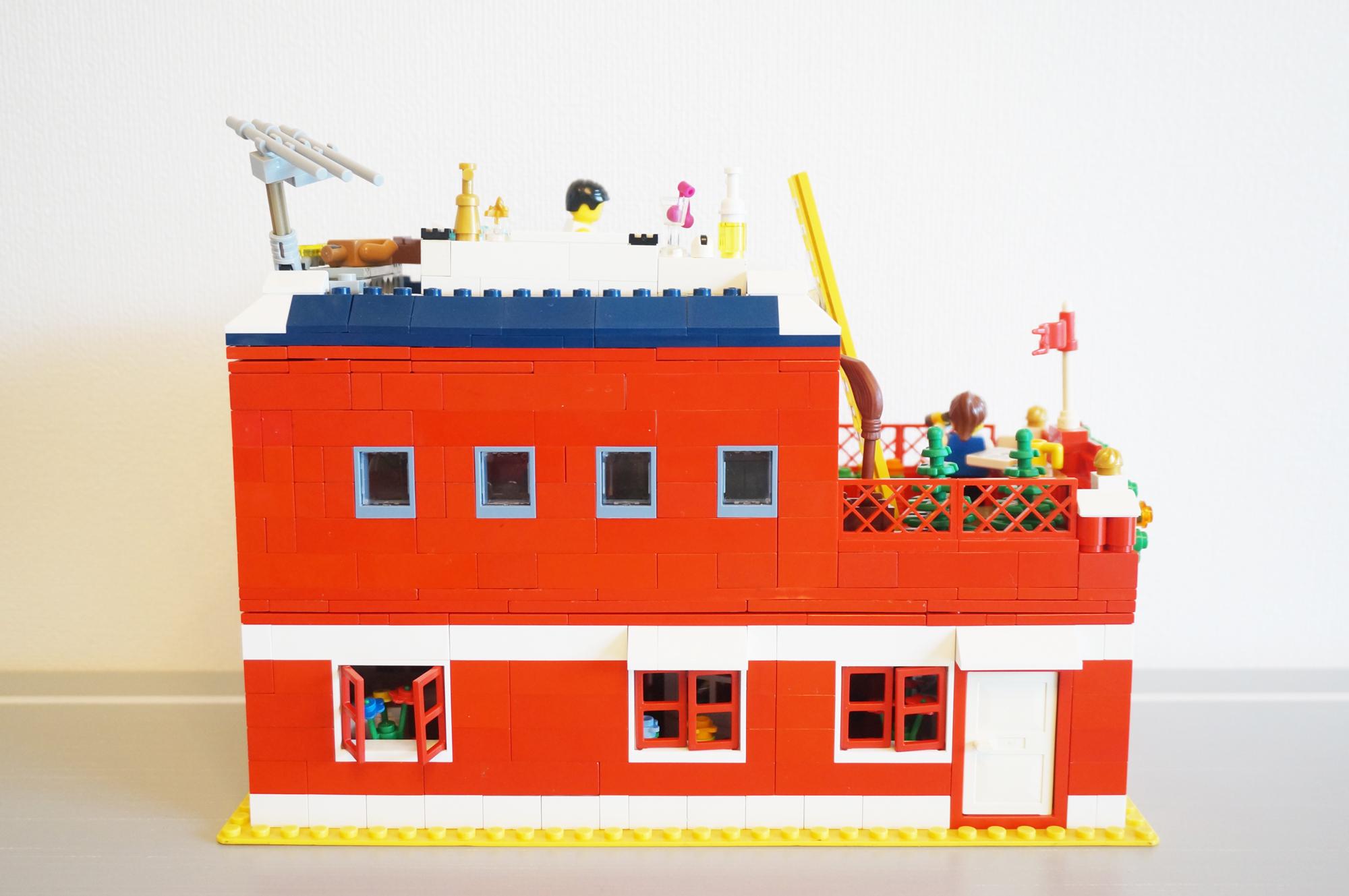 レゴの家側面