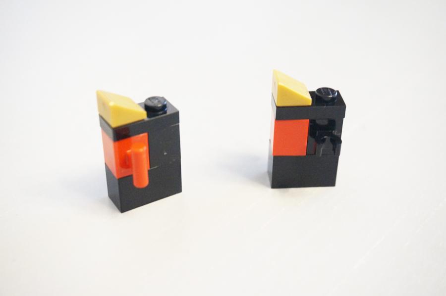 レゴのマジックボックスの扉