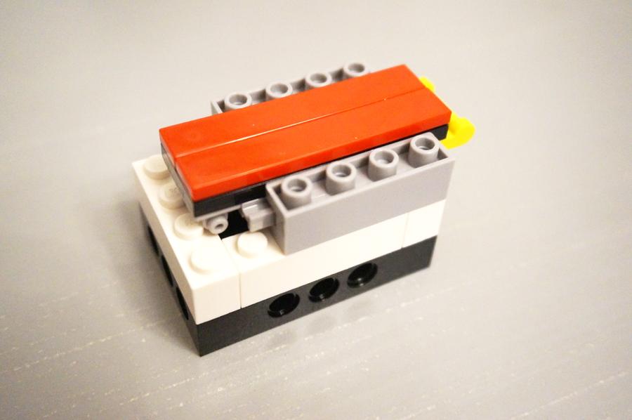 レゴマジックボックス途中