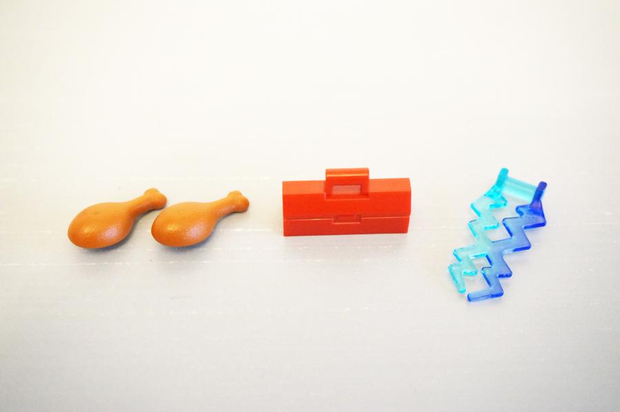 レゴ70333お肉道具箱雷パーツ