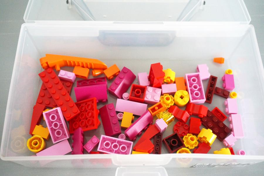 レゴ10692赤パーツ