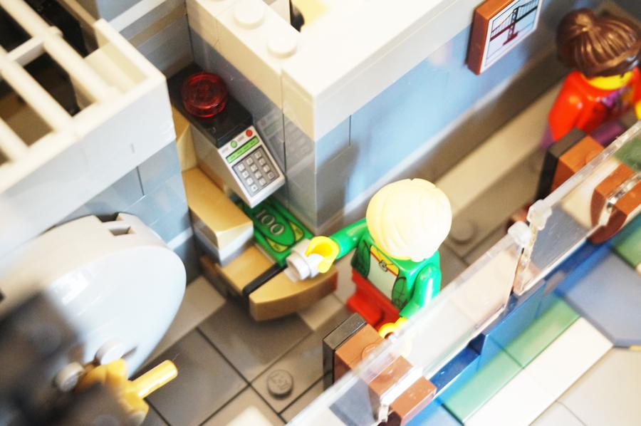 レゴ銀行ギミック