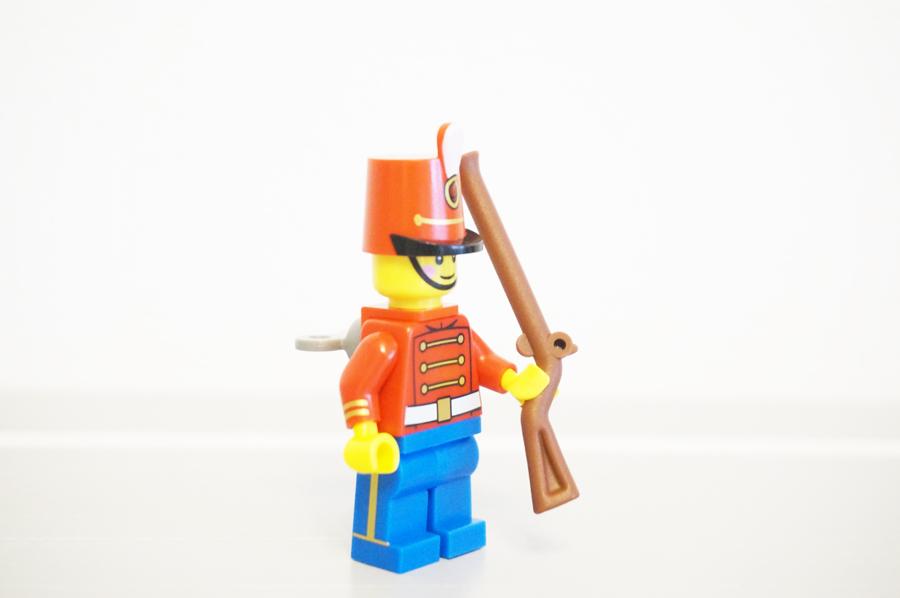 レゴおもちゃの兵隊さん