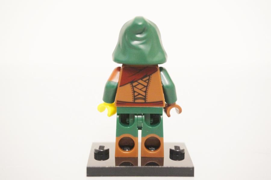 ミニフィグゴロツキ山賊の服