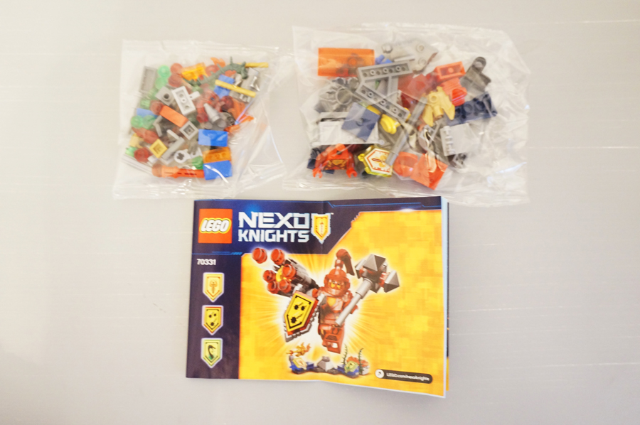 レゴ70331の中身