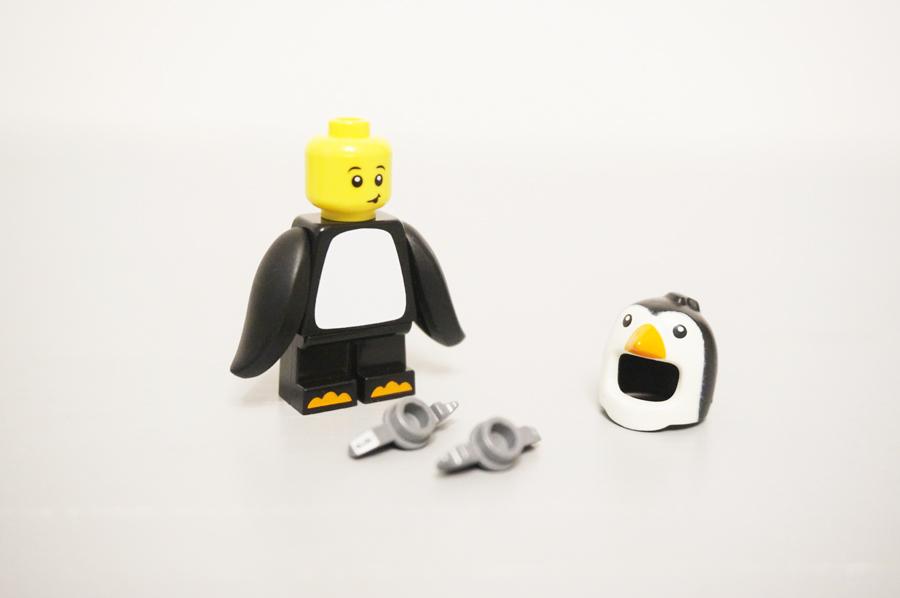 レゴミニフィグペンギンボーイ3