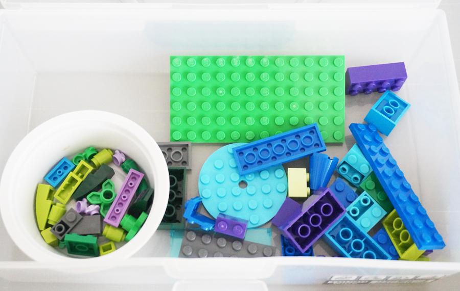 レゴ10692青パーツ