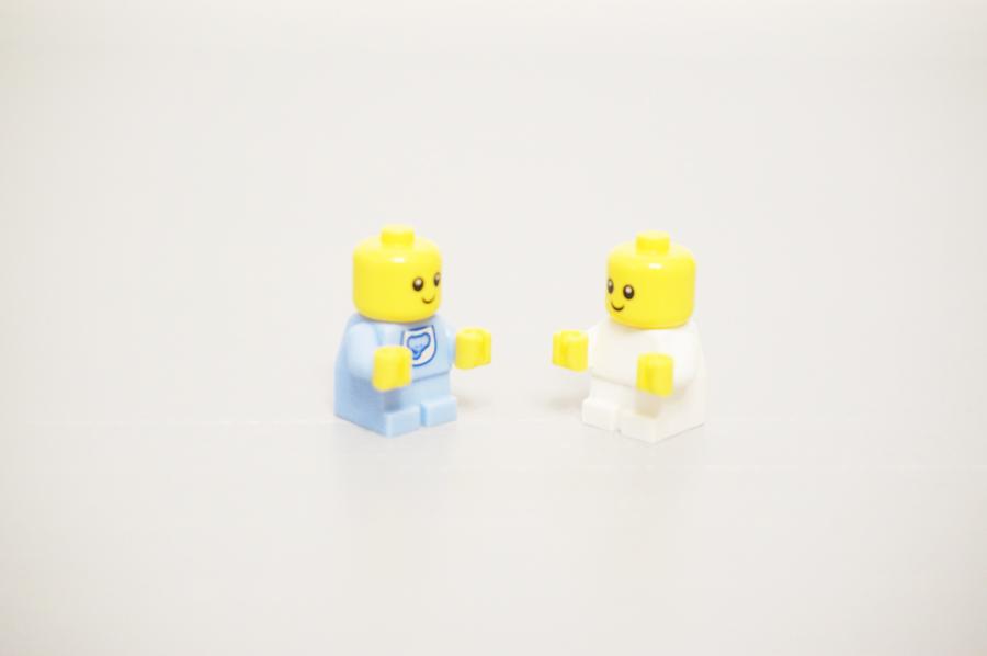 レゴ赤ちゃんのミニフィグ