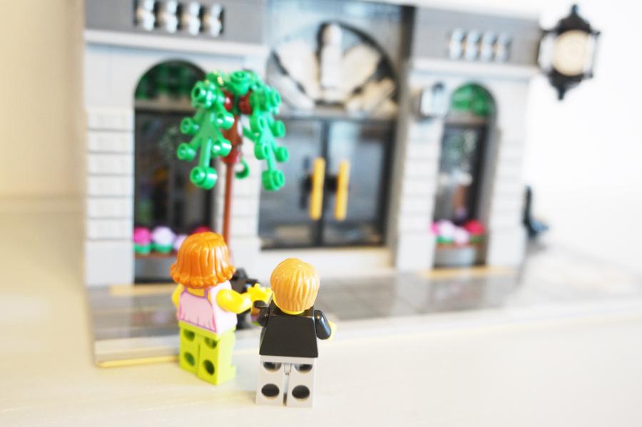 レゴ10251レンガの銀行