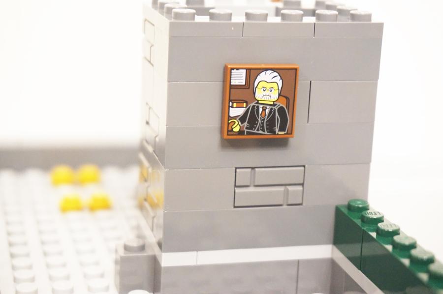 頭取の部屋の絵