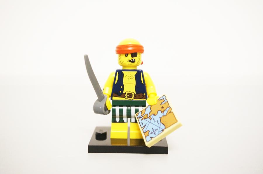 ミニフィグ悪党海賊