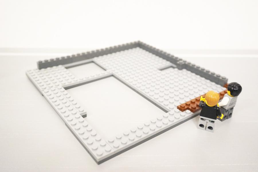 レゴ銀行2階