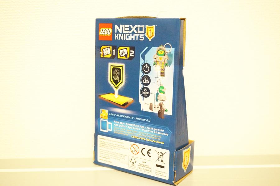 ネックスナイツアーロンのキーライトパッケージ