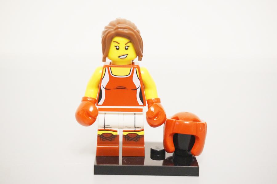 ミニフィグキックボクサー