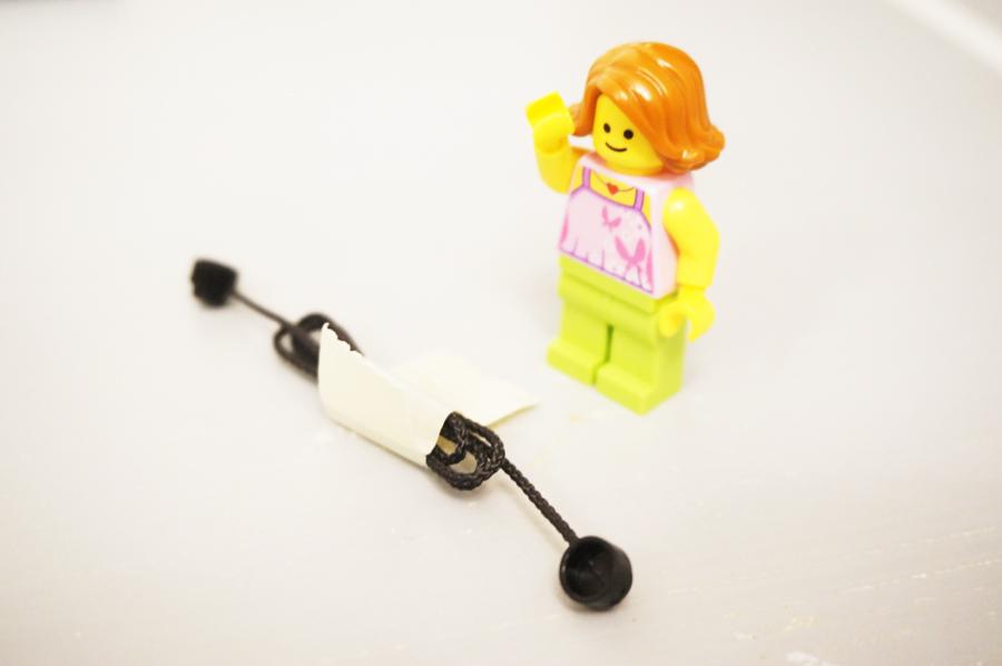レゴ銀行に入っている紐