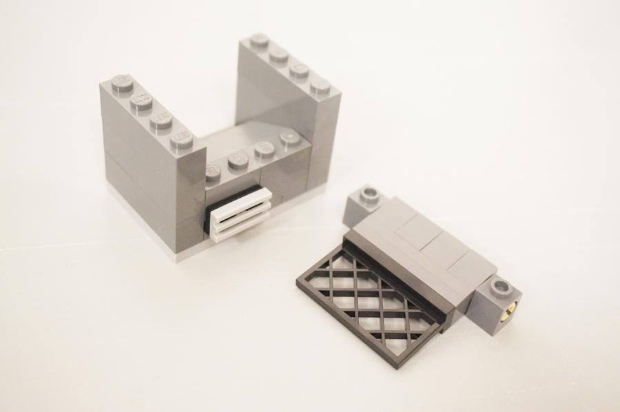 レゴ銀行の煙突