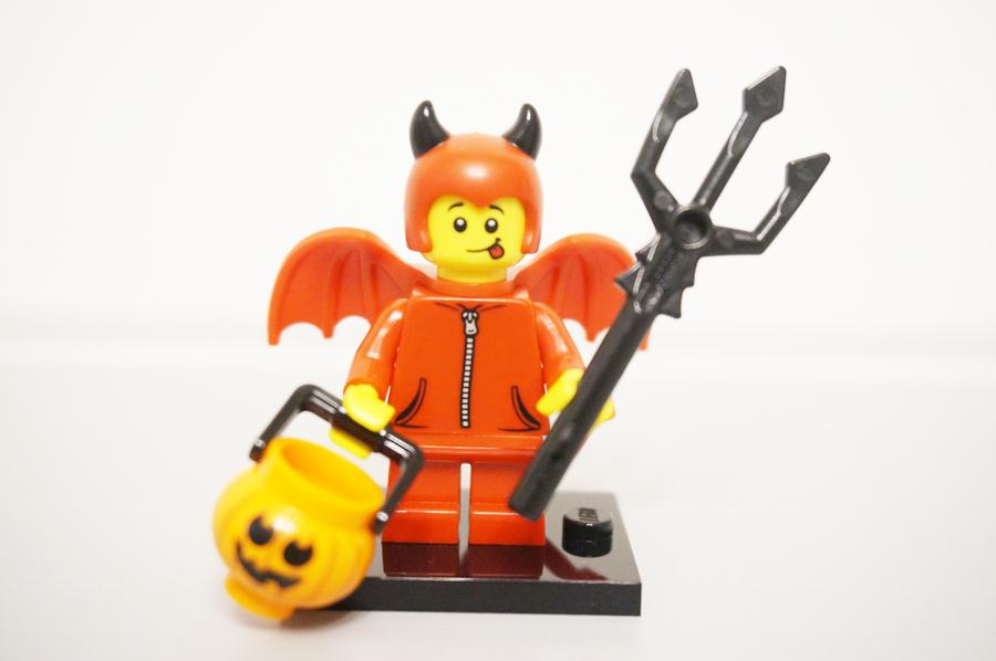 ミニフィグかわいい小悪魔