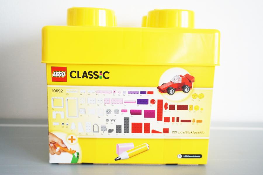 レゴクラシック 黄色のアイデアボックスベーシックパッケージ
