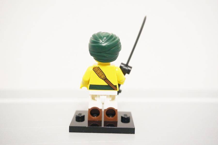 ミニフィグ砂漠の戦士3