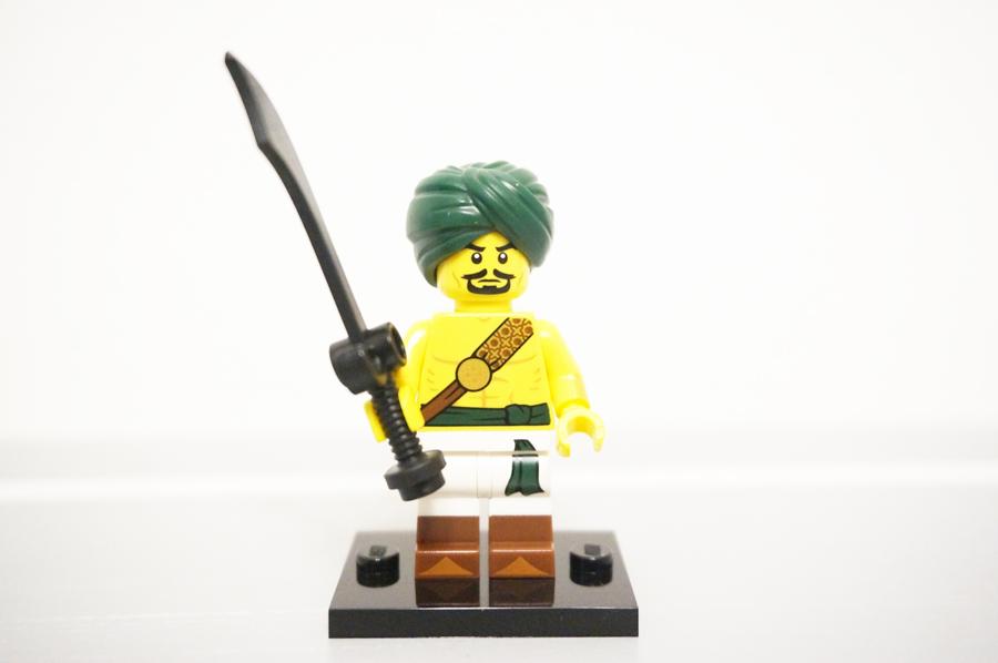ミニフィグ砂漠の戦士