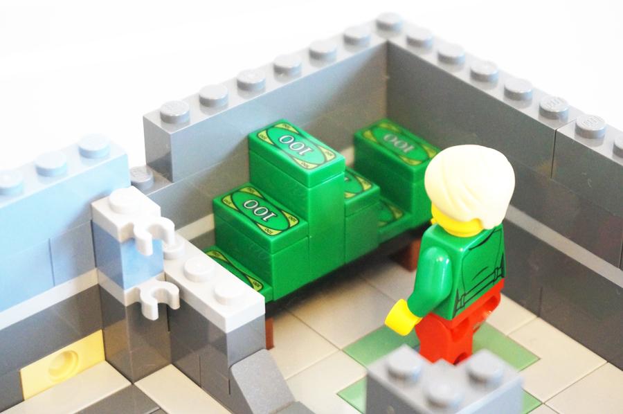 レゴ銀行のお金