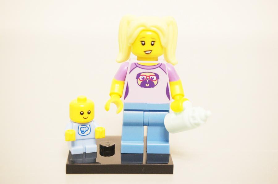 レゴミニフィグベビーシッターと赤ちゃん