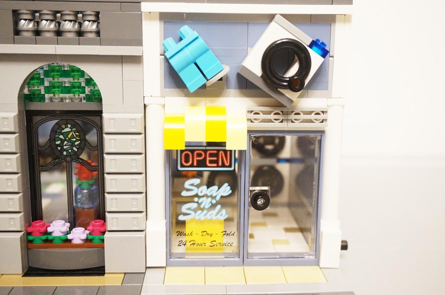 レゴコインランドリー店構え