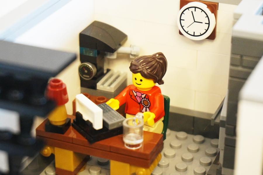 レゴ事務室