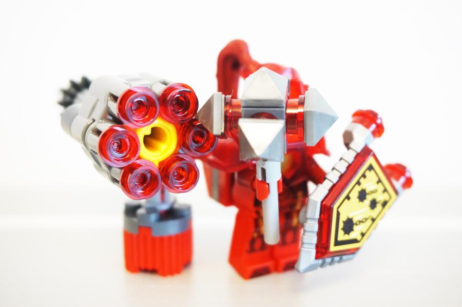 レゴ6連シューター